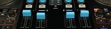 PIONEER DDJ-SX SZ RANE DJ 61 62 64 68 DENON NUMARK SERATO BLUE FADER CAP KNOB