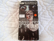 NECROPHAGIA THROUGH EYES OF THE DEAD VHS HORROR GORE MUSIC VIDEO KILLJOY SIGNED