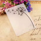 Dandelion Plastic Embossing Folder Die Cutting Template Scrapbooking Album Craft