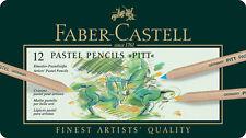 #112112 Scatola di 12 Faber-Castell Pitt Pastel Matite Artisti Arte Matite a colori