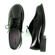 New Capps Uniform Women's Rita - 90100 - Black Leather WELT Oxford Shoes Size 10