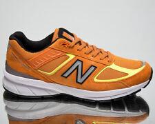 New Balance 990 сделаны в США, мужские оранжевые низкие повседневный образ жизни кроссовки, обувь