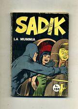 SADIK # LA MUMMIA # N.6 Giugno 1966 # Edizioni Alhambra