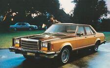 1980 Ford Granada ORIGINAL Factory Postcard my0817