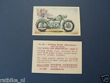 HAUST NO 65 ZUNDAPP KS601 MOTORCYCLE  PICTURE STAMP ALBUM CARD,ALBUM PLAATJE