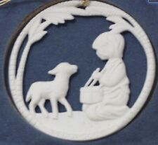 Very Rare Wedgwood Little Drummer Boy Christmas Tree Ornament, *Boxed*