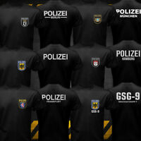 New Germany Cities Berlin Special Police Force Bundespolizei GSG-9 T-shirt