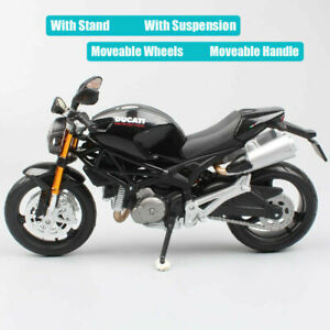 gift Scale Ducati Monster 696  Bike Model Toy Maisto Diecast Motorcycles 3 Years