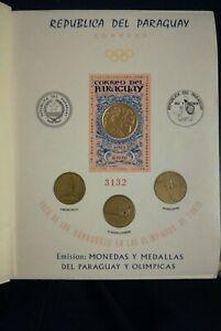 Paraguay Block 67 ** Goldprägung!!!!