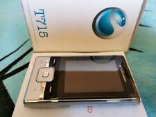 NEW Sony Ericsson T715 Galaxy Silver Unlocked phone Radio MP3 3G HSPA Phone EU