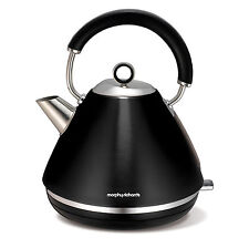 Morphy Richards Electric Traditional Kettle 3000W 1.5L Cordless Stainless Steel