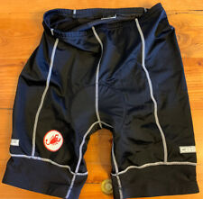 New listing Castelli Men's Padded Black Bike Cycling Shorts XL
