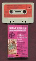 K7 Audio - Palmarès de la Chanson Française - 1977 - Polydor - Marie Myriam...