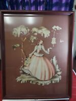 """Victorian Vintage Lady Print Similar with Turner 21"""" x 17"""" with Frame"""