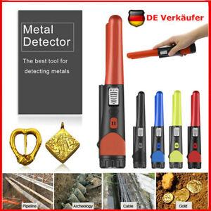 NEU Handheld Wasserdichter Pinpointer Metalldetektor Suchgerät Gold Bolt Finder