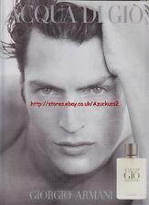 Giorgio Armani Acqua Di Gio 1998 Magazine Advert #79