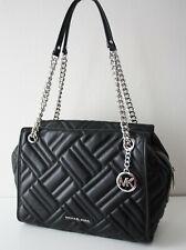 Michael Kors Bag Kathy LG Satchel Leather Leather Schhwarz Black