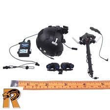 HALO UDT Jumper - Helmet & Mask Set - 1/6 Scale - Mini Times Action Figures