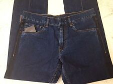 PRADA Jeans Long Blue Size 29 New with tag 100% Authentic Model DEEP SELVAGE DE