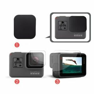 3 in 1 Lens Protection Cover + LCD Screen Protector for GoPro Hero 7 6 5 Black
