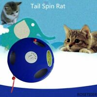 Interactive Cat Toy Electric Automatic Cat Toy Multi-position Pet Tail Spin Rat