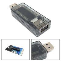 Digital USB Probador Medidor Voltaje Corriente Detector Energía Cargador