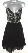 BNWT Little Mistress Sweetheart Applique Embellished Evening Occasion Dress 12