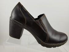 Merona Black Slip On Clogs Heels Shoes Womens 8M