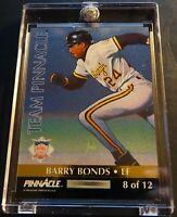 1992 BARRY BONDS DANNY TARTABULL PINNACLE TEAM PINNACLE GIANTS #8 (832)