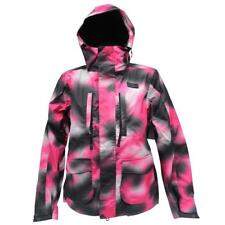 DC FUSE Womens Snow Jacket Size XS 6 8 Pink Black Warm Snow Board Ski Mountain