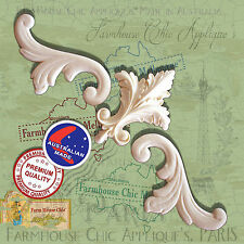 Resin / Wood Furniture Appliques Shabby French Chic  Fleur de lys & Scrolls