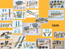 Schraubensatz pas. f. Simson SR50 SR50 Rahmen Motor Elektrik Fahrwerk verzinkt