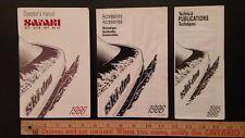 1986 SAFARI - Ski-doo - Bilingual Three Part Manual -Very Good Condition - (CDN)