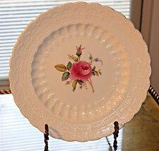 Copeland Spode Billingsley Rose China Pink 1 Bud Pattern Dinner Plate Red Mark