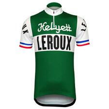 Retro Helyett LeRoux Jersey Cycling Jersey Short Sleeve