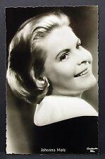 Johanna Matz - Actor Movie Photo - Film Autogramm-Karte AK (Lot-G-7188