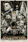 Halloween VARIANT movie print poster by Tyler Stout S/N edition of 450