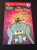 Spongebob Squarepants The Song That Never Ends Book Vintage Picture book