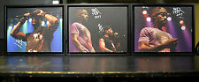 METHOD MAN and REDMAN - DUAL signed Canvas 11X14 Framed - GREAT FATHERS DAY GIFT