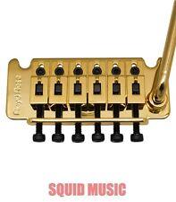 Floyd Rose Gold Non-Fine Tuner Tremolo System w/ R2, R3 or R4 Nut FRTNFTG