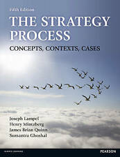 The Strategy Process: Concepts, Contexts, Cases, Good Condition Book, Mintzberg,