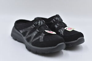 Women's Skechers Easy Goin - Repute Slip On Mule Loafers, Black, 8.5M