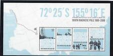 Australie Antarctique 2009 Sud Magnétique Pôle Bloc-Feuillet Neuf, MNH