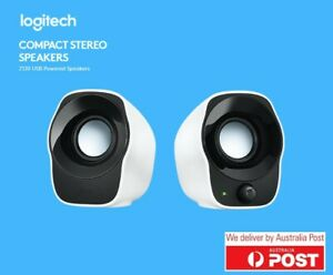 Logitech Z120 Stereo Speakers Compact Mini USB High Quality 3.5mm PC
