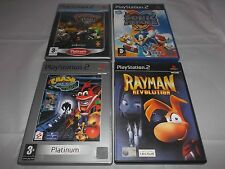 Crash BANDICOOT IRA corteccia + RATCHET CLANK 3 + RAYMAN REVOLUTION + SONIC (PS2)