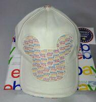Walt Disney World Disneyland Resort adjustable Hat Cap Mickey Mouse Donald Goofy