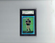 2006 BOWMAN CHROME REGGIE BUSH ROOKIE REFRACTOR GRADED SGC96