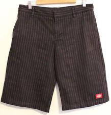 Pinstripe Mid-Rise Regular Size Shorts for Women
