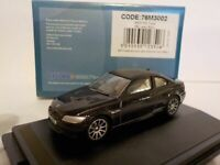 BMW M3 COUPE - E92 - BLACK, Oxford Diecast 1/76 New 76M3002