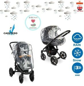 Universal Rain Cover for the Baby Stroller 2 different versions